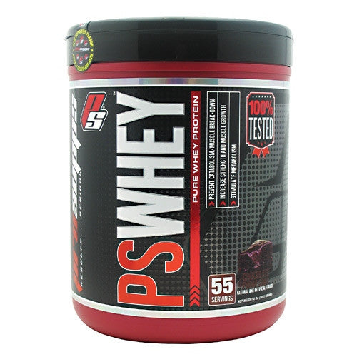 Pro Supps PS Whey - Chocolate Fudge Cake - 55 Servings - 682055406077