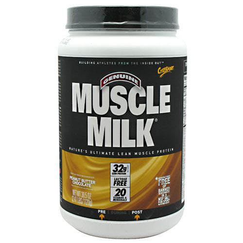CytoSport Muscle Milk - Peanut Butter Chocolate - 2.47 lb - 660726503904