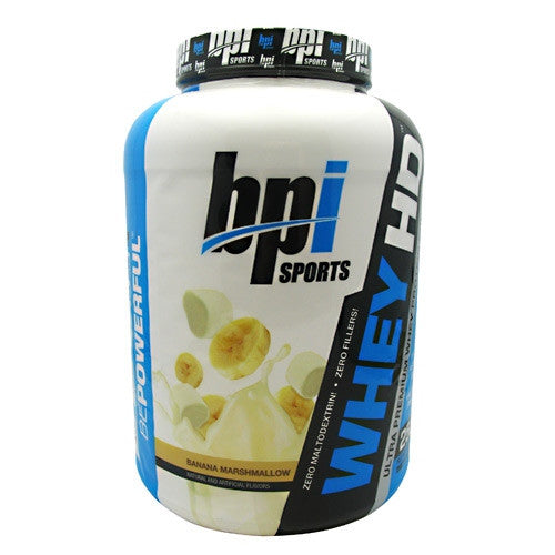 BPI Whey-HD - Banana Marshmellow - 57 Servings - 811213021535