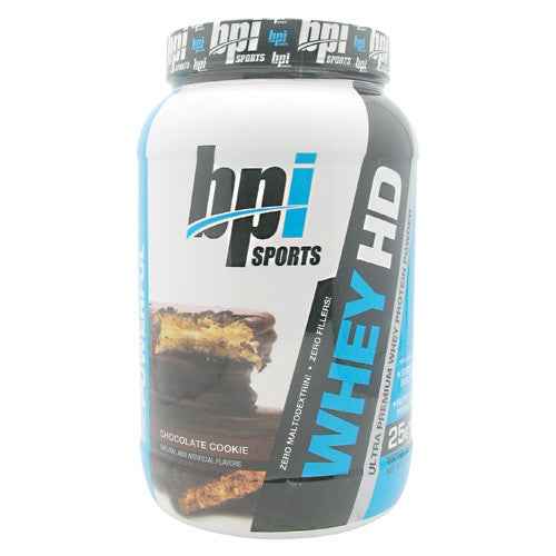 BPI Whey-HD - Chocolate Cookie - 25 Servings - 811213021443