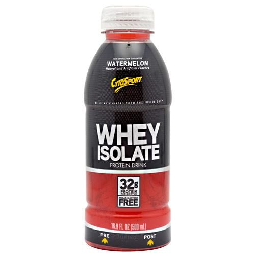 CytoSport Whey Isolate RTD - Watermelon - 12 Bottles - 00876063003445