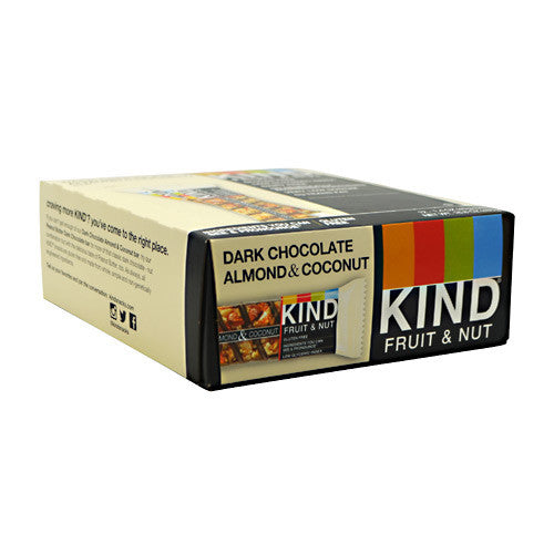 Kind Snacks Kind Fruit & Nut - Dark Chocolate Almond & Coconut - 12 Bars - 602652199820