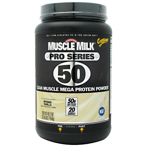 CytoSport Muscle Milk Pro Series - Intense Vanilla - 2.54 lb - 660726534106