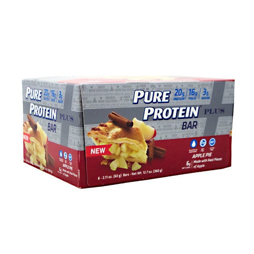 Pure Protein Pure Protein  Plus Bar - Apple Pie - 6 Bars - 749826656601