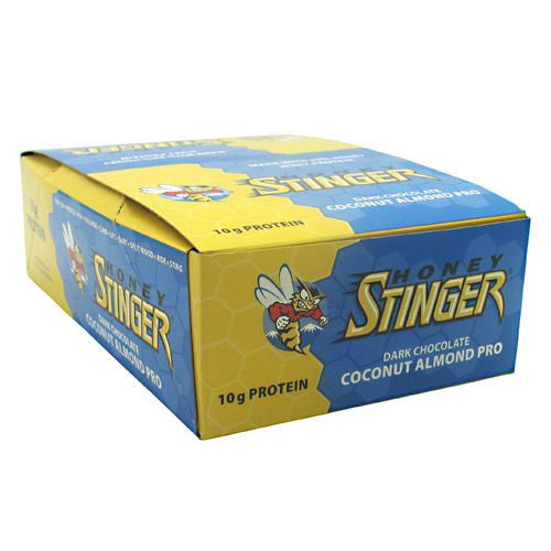 Honey Stinger Stinger Bar - Dark Chocolate Coconut Almond Pro - 15 Bars - 810815020717