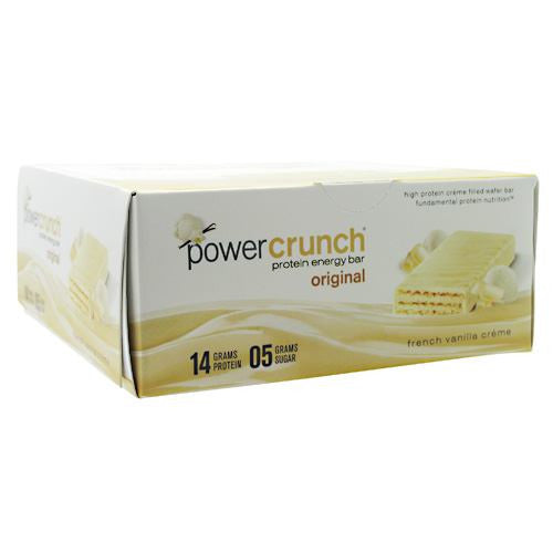 BNRG Power Crunch - French Vanilla Creme - 12 ea - 644225722387