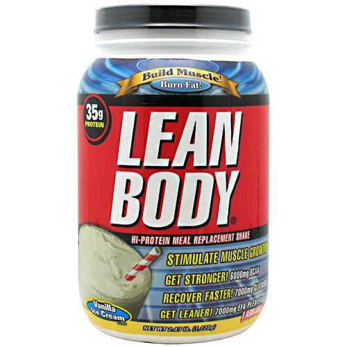 Labrada Nutrition Lean Body - Vanilla Ice Cream - 2.47 lb - 710779112735