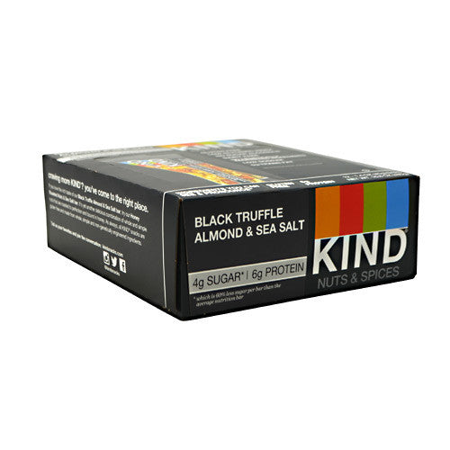 Kind Snacks Kind Fruit & Nut - Black Truffle Almond & Sea Salt - 12 Bars - 602652199868