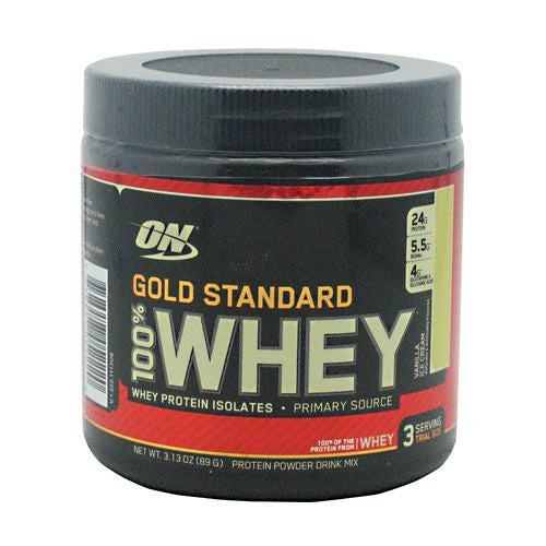 Optimum Nutrition Gold Standard 100% Whey - Vanilla Ice Cream - 3 Servings - 748927052220