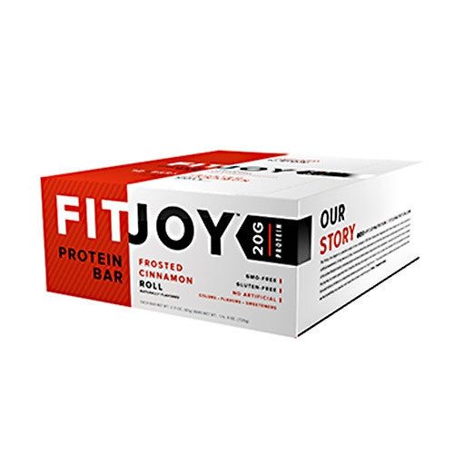 Cellucor FitJoy Bar - Cinnamon Roll - 12 Bars - 810390028146
