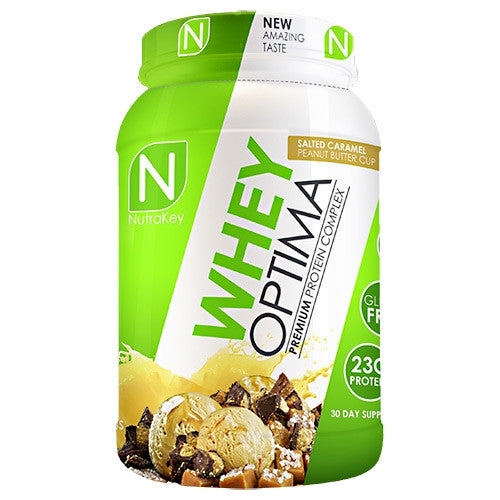 Nutrakey Whey Optima - Salted Caramel Peanut Butter Cup - 30 Servings - 851090006249