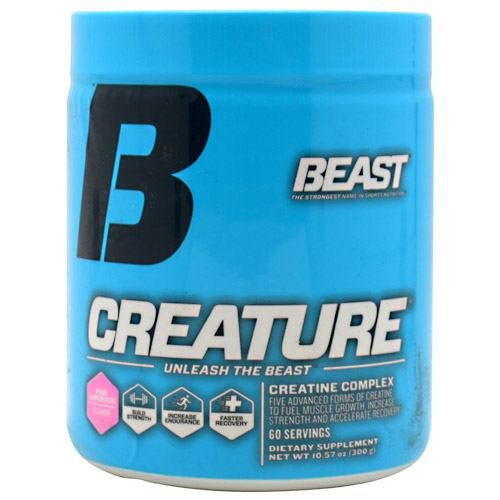 Beast Sports Nutrition Creature - Pink Lemonade Flavor - 60 Servings - 631312801216