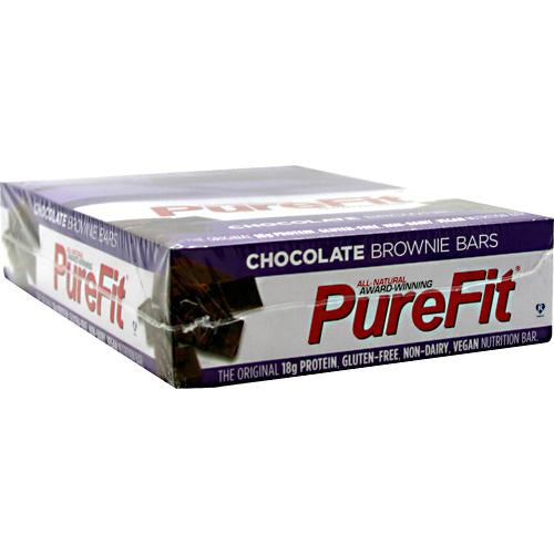 PureFit Nutrition Bar - Chocolate Brownie - 15 ea - 812787006003