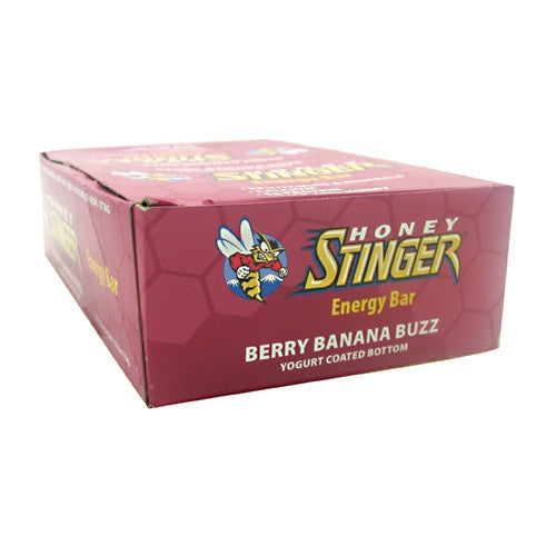 Honey Stinger Energy Bar - Berry Banana Buzz - 15 Bars - 810815020564