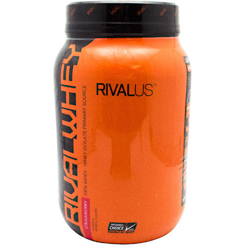 Rivalus Rival Whey - Strawberry - 2 lbs - 807156001840