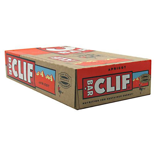 Clif Bar Energy Bar - Apricot - 12 ea - 722252300706