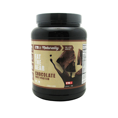 Eat The Bear Naturally Whey Protein - Naturally Chocolate - 1.62 lb - 637262797098