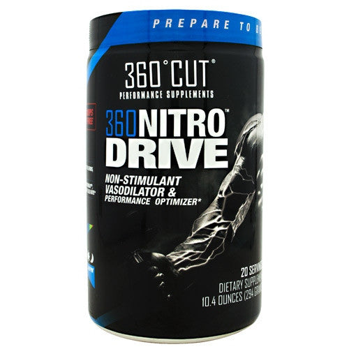 360Cut 360 NitroDrive - Cool Blue Razz - 20 Servings - 850829006208