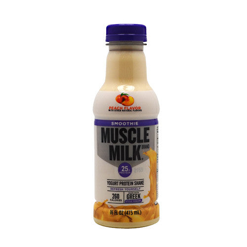 CytoSport Muscle Milk Smoothie - Peach - 12 Bottles - 00876063006286
