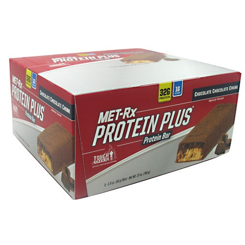 MET-Rx Protein Plus - Chocolate Chocolate Chunk - 9 Bars - 786560557115