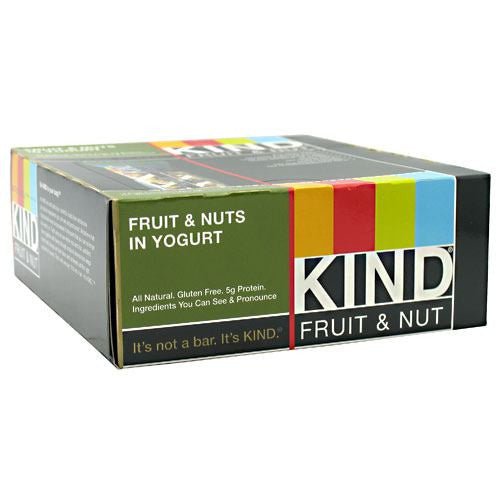 Kind Snacks Kind Fruit & Nut - Fruit & Nuts in Yogurt - 12 Bars - 602652171277