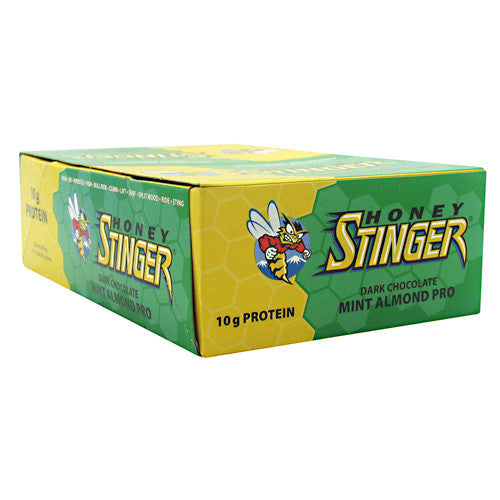 Honey Stinger Stinger Bar - Dark Chocolate Mint Almond Pro - 15 Bars - 810815020779