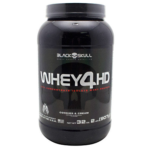 Black Skull Black Skull Whey4HD - Cookies & Cream - 2 lbs - 857044005887