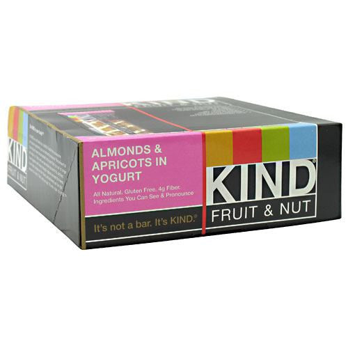 Kind Snacks Kind Fruit & Nut - Almonds & Apricots in Yogurt - 12 Bars - 602652171239