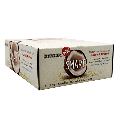 Detour Smart Bar - Coconut Almond - 9 Bars - 733913010179