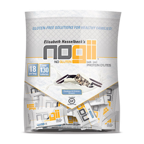 NoGii Protein DLites - Cookies & Creme Dream - 18 Bars - 810756020265