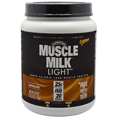 CytoSport Muscle Milk Light - Chocolate - 1.65 lb - 660726593202