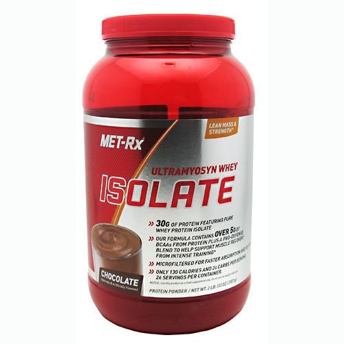 MET-Rx Ultramyosyn Whey Isolate - Chocolate - 2 lb - 786560314718