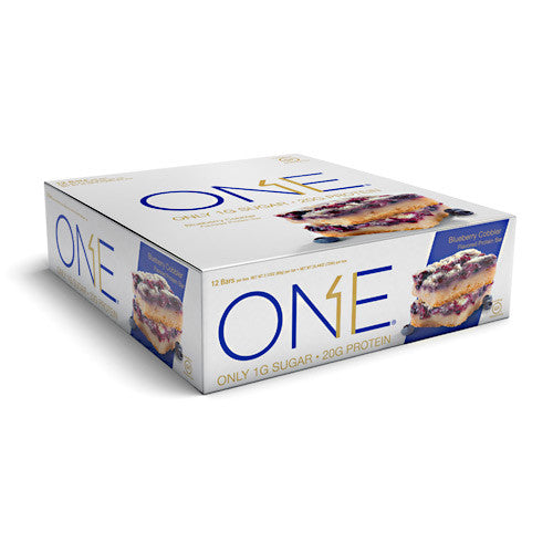 ISS OhYeah! One Bar - Blueberry Cobbler - 12 Bars - 788434106849