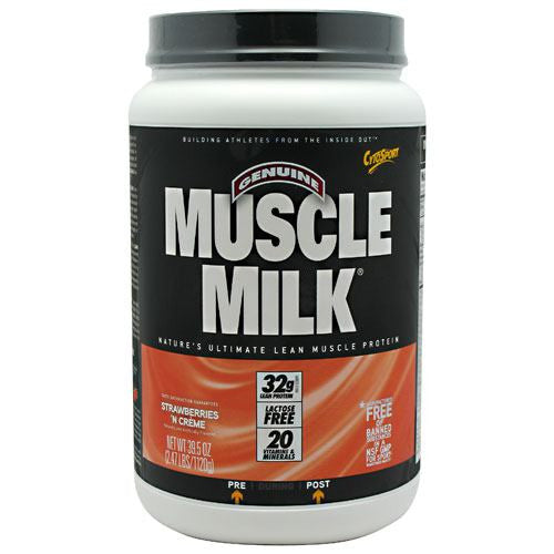 CytoSport Muscle Milk - Strawberries N Crème - 2.47 lb - 660726503300