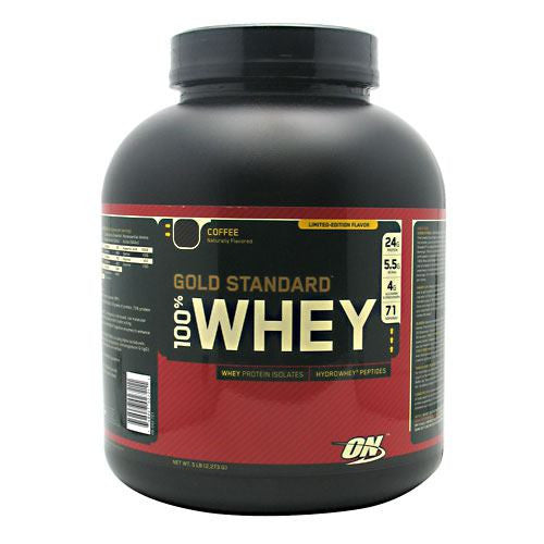 Optimum Nutrition Gold Standard 100% Whey - Coffee - 5 lb - 748927027211