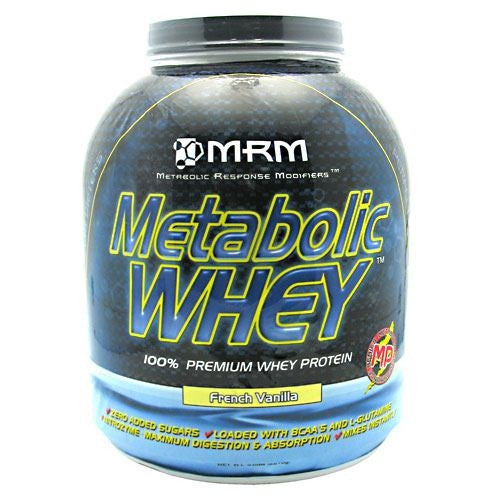 MRM Metabolic Whey - French Vanilla - 5 lb - 609492720511