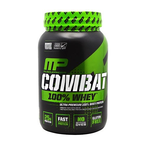 MusclePharm Sport Series Combat 100% Whey - Chocolate Milk - 2 lb - 019962715129
