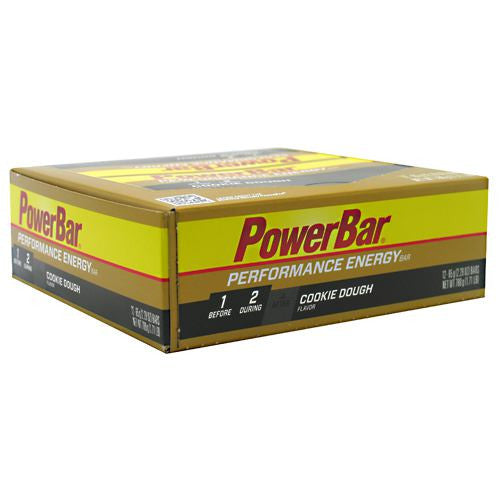PowerBar Performance Energy Bar - Cookie Dough - 12 Bars - 097421020601