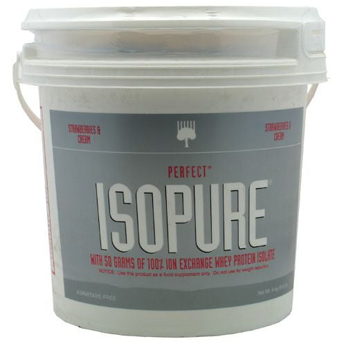 Natures Best Perfect Isopure - Strawberries & Cream - 8.8 lb - 089094021252