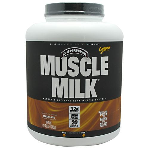CytoSport Muscle Milk - Chocolate - 4.94 lb - 660726503263