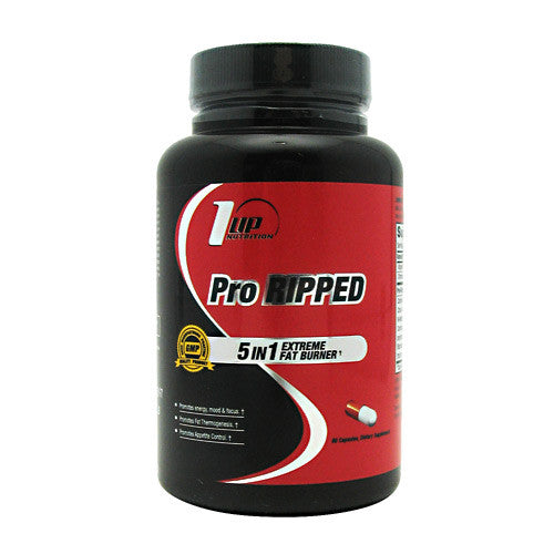 1 UP Nutrition Pro Ripped - 60 Capsules - 808574107084