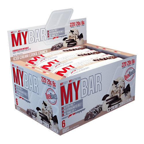 Pro Supps My Bar - Ice Cream Cookie Crunch - 6 Bars - 783956106681