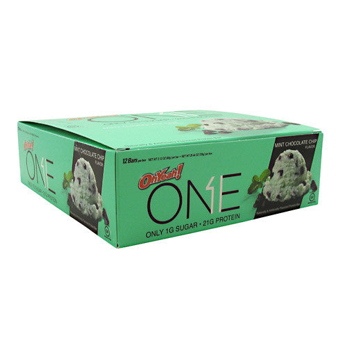 ISS OhYeah! One Bar - Mint Chocolate Chip - 12 Bars - 788434108157