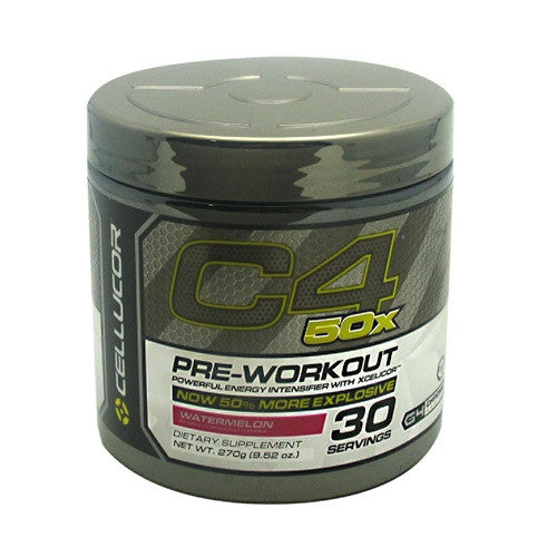 Cellucor G4 Chrome Series C4 50x - Watermelon - 30 Servings - 810390026081