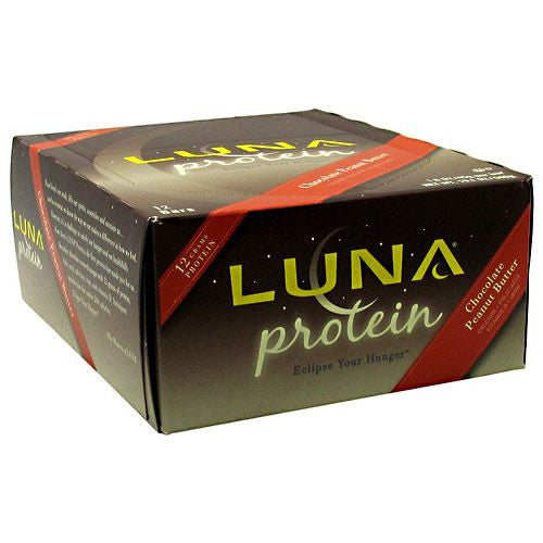 Clif Luna Protein - Chocolate Peanut Butter - 12 Bars - 722252333018