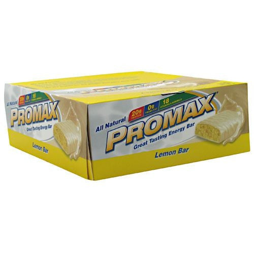 Promax Energy Bar - Lemon Bar - 12 Bars - 743659123217