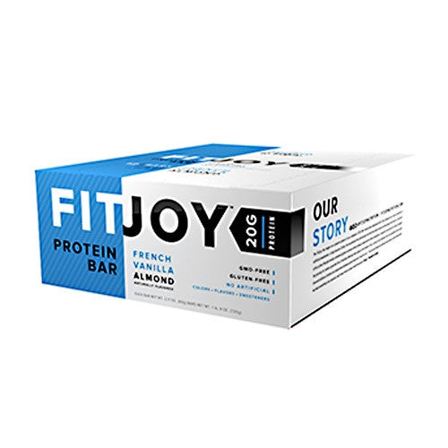Cellucor FitJoy Bar - French Vanilla Almond - 12 Bars - 810390028764