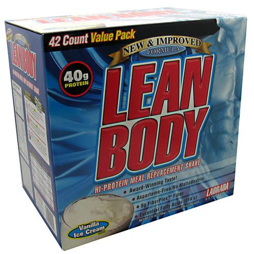 Labrada Nutrition Lean Body - Vanilla Ice Cream - 42 Packets - 710779120051