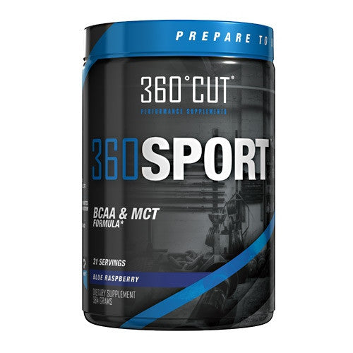 360Cut 360Sport - Blue Raspberry - 31 Servings - 793573219749