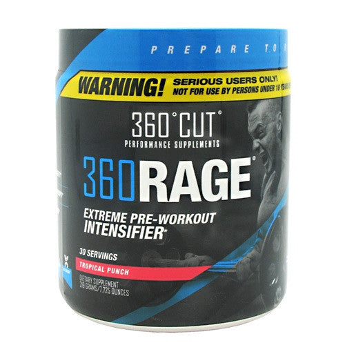 360Cut 360Rage - Tropical Punch - 30 Servings - 861638000189